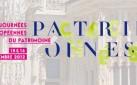 Les 15 et 16 Septembre 2012, pensez aux Journées du Patrimoine
